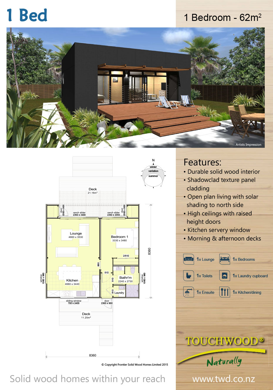Homes 1 Bed
